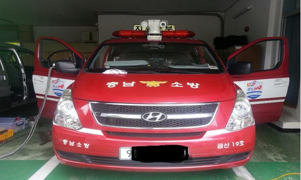 Disaster Control System ( Choongnam Firecenter ) 썸네일