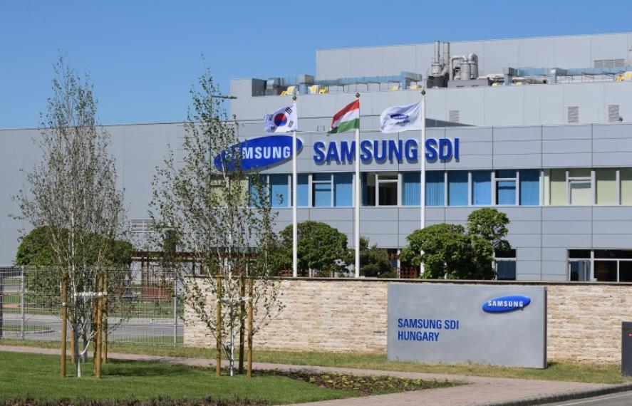 SAMSUNG SDI FACTORY in Hungary